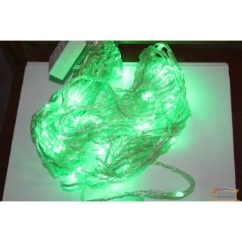 Изображение Гирлянда диодная LED нить прозрачный кабель разноцветная 100 ламп