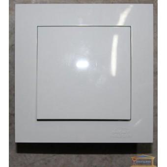 Изображение Выключатель 1-кл. внутр. белый Right hausen velena (HN-011011)