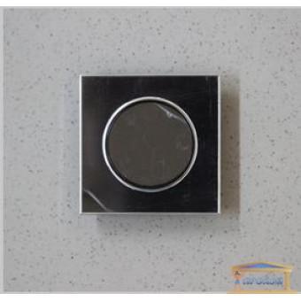 Изображение Выключатель 1-кл. внутр. черный LAURA RH-015012
