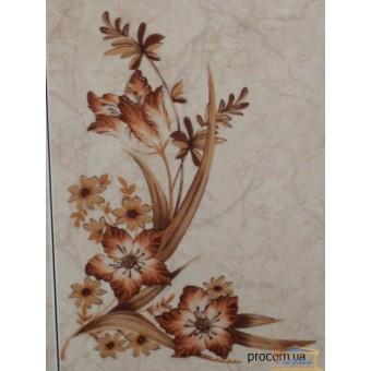 Изображение Декор 20*30 Афина греческая цветок бежевый
