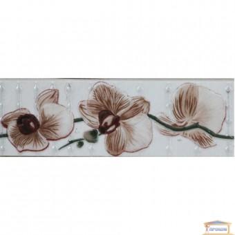 Изображение Фриз 20*6,5 Орхидея бежевый