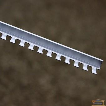 Изображение Профиль гибкий для плитки серебро 2,7м S-10 купить в procom.ua