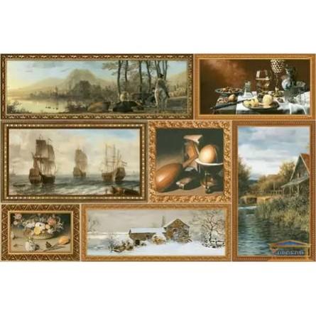 Изображение Декор Грани-1 23*35 коричневый купить в procom.ua - изображение 1