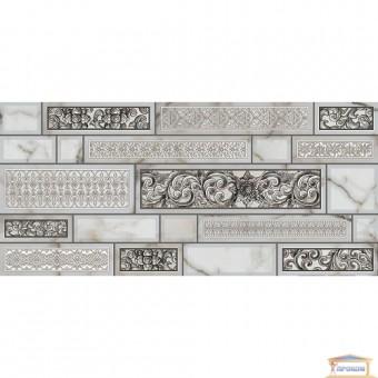 Изображение Декор Плаза 23*50 серый купить в procom.ua