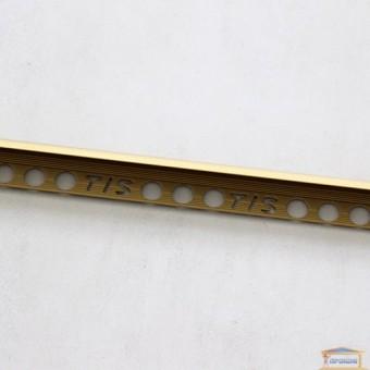 Изображение Профиль наружный алюминиевый для плитки золото 2,7м 12мм