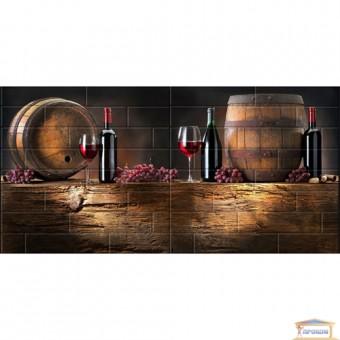 Изображение Декор Брик вино 30*60 (к-т 4шт)