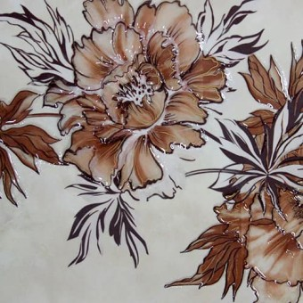 Изображение Декор Флористика 25*35см коричневый купить в procom.ua