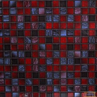 Изображение Плитка Квадро 25*35 бордо купить в procom.ua