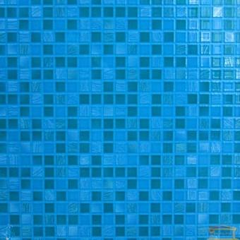 Изображение Плитка Квадро 25*35 голубая купить в procom.ua