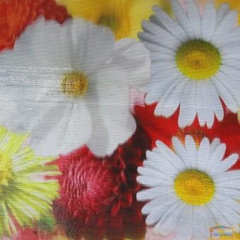 Изображение Плитка Антей 3D 33*50 цветы