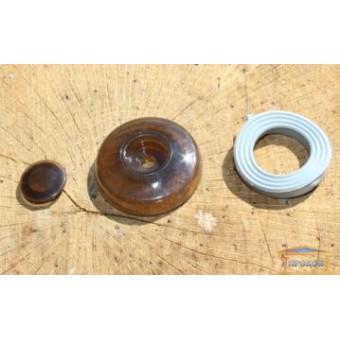 Изображение Термошайба для поликарбоната бронза