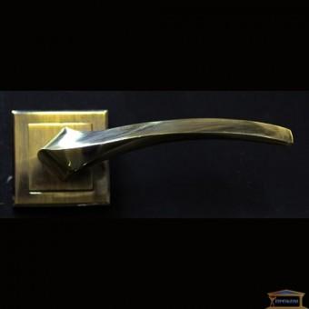 Изображение Ручка дверная Manera AL-0608 (AB) античная бронза купить в procom.ua