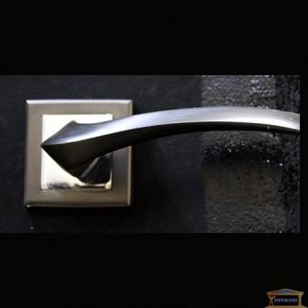 Изображение Ручка дверная Manera AL-0608 (MBN) графит хром купить в procom.ua