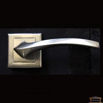 Изображение Ручка дверная Manera AL-0608 (SN) мат.никель купить в procom.ua