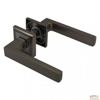 Изображение Ручка для межкомнатной двери AL-0071 (МВN/СР) графит/хром купить в procom.ua