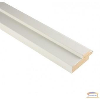 Изображение Коробка МДФ 80*22 белая грунтованная