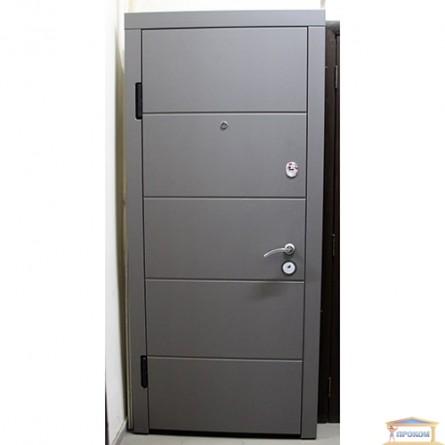 Изображение Дверь метал. ПК 175 левая 860 мм софт темный беж купить в procom.ua - изображение 1