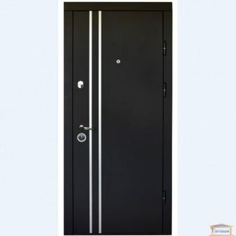 Изображение Дверь метал.ПК-189 М/183 Элит черн.скол/бел.мат 860 правая