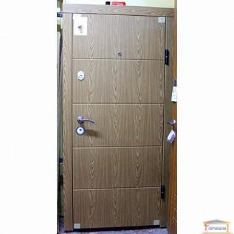 Изображение Дверь метал. ПО 175 V правая 960мм дуб шампань 1900 купить в procom.ua