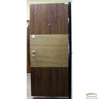 Изображение Дверь метал. Элит 140 Адель 870 VIN Дуб бронза карп.ял прав купить в procom.ua