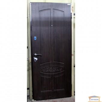 Изображение Дверь метал. Стандарт F VIN Гранат темн.орех 860 правая купить в procom.ua