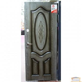 Изображение Дверь метал. Комфорт Аристократ 860мм VIN Дуб вулк/пат правая