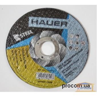 Изображение Диск шлифовальный по металлу Hauer 230 6мм купить в procom.ua