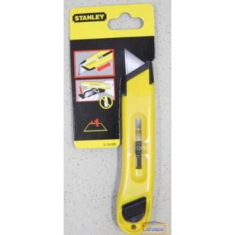 """Изображение Нож с выдвижным лезвием 150мм stanley ''Utility"""" 0-10-088 купить в procom.ua"""