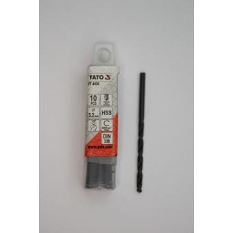 Изображение Сверло по металлу d 3,2мм YT-4436 купить в procom.ua