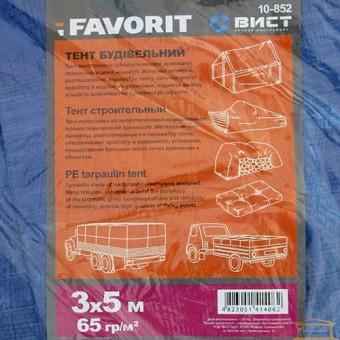 Изображение Тент строительный 65г/м.кв 3*5м 10-852