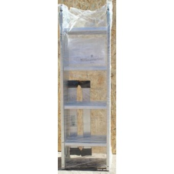 Изображение Лестница алюм. трансформер 4 ступеньки (4 секции) 70-144