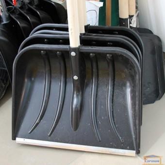 Изображение Лопата для снега пластиков с алюм планкой 70-889