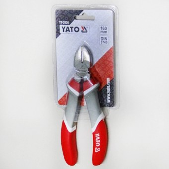 Изображение Бокорезы никель. 160м Yato YT-2036 купить в procom.ua