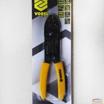 Изображение Клещи для зачистки проводов 215мм VOREL 45012 купить в procom.ua
