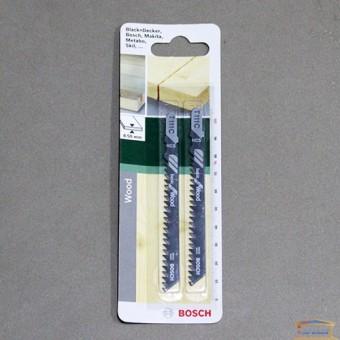 Изображение Полотно для э/лобзика T111C Bosch 2.609.256.716 купить в procom.ua