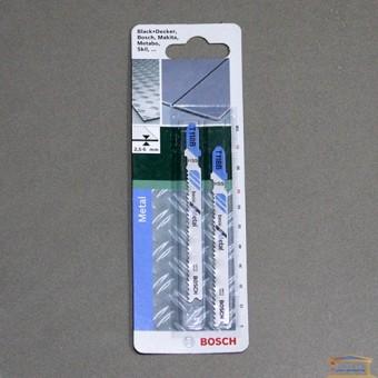 Изображение Полотно для э/лобзика T118B Bosch 2.609.256.730 (уп.2 шт.) купить в procom.ua