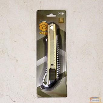 Изображение Нож с выдвижным лезвием VOREL 18мм 76184 купить в procom.ua