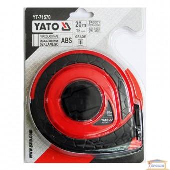 Изображение Рулетка YATO 15мм, 20м  YT-71570