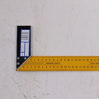 Изображение Угольник столярный VOREL 300мм 18300