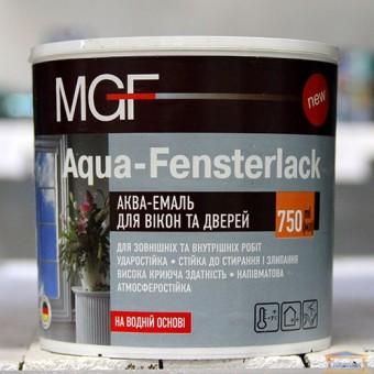 Изображение Аква-эмаль для окон и дверей MGF 0,75л купить в procom.ua
