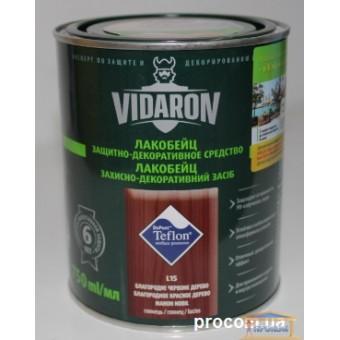 Изображение Лак для дерева цветной Видарон 0,75л благородное  красное дерево купить в procom.ua