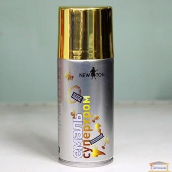 Изображение Краска аэрозоль NEW TON супер хром золото, 150мл купить в procom.ua