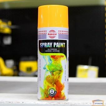 Изображение Краска аэрозоль акрил/флуорес.  ASMACO оранж-желтая 400мл 24 купить в procom.ua
