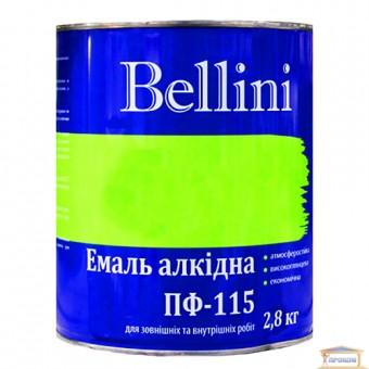 Изображение Эмаль Беллини ПФ-115 желто-коричневая 2,8 кг