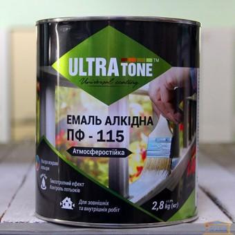 Изображение Эмаль ПФ-115 Ультра тон черная 2,8кг купить в procom.ua