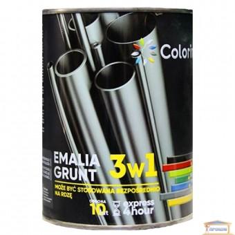 Изображение Грунт-краска 3в1 Колорино 0,75кг темн.-коричневая купить в procom.ua
