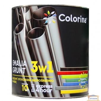Изображение Грунт-краска 3в1 Колорино 2,5кг темн.-коричневая купить в procom.ua