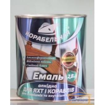Изображение Эмаль Корабельная ПФ-167 серебристая 2,2 кг купить в procom.ua