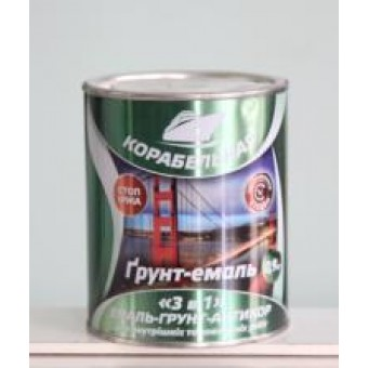 Изображение Краска-грунт 3 в 1 Корабельная 0,7 кг графит купить в procom.ua