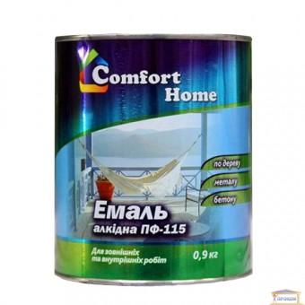 Изображение Эмаль Комфорт ПФ-115 белая 0,9 кг